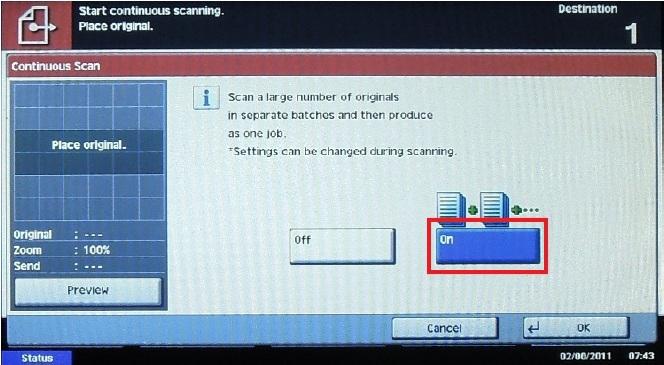 MyQ Scan Advanced Setup On